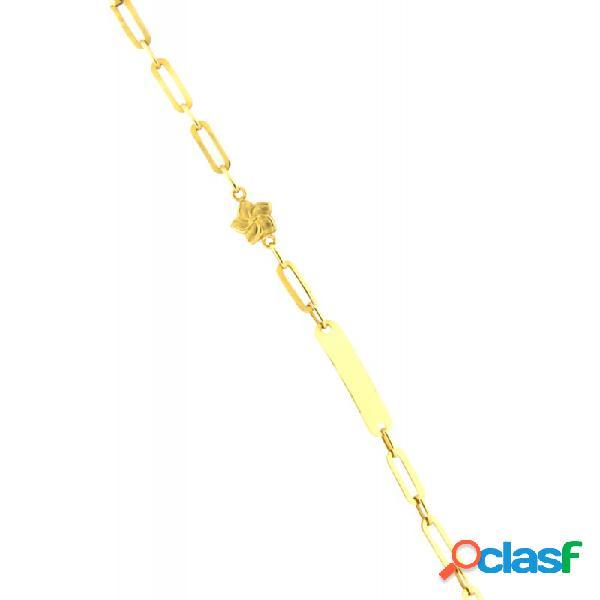 Pulsera Oro 18k Niña 3268-sat