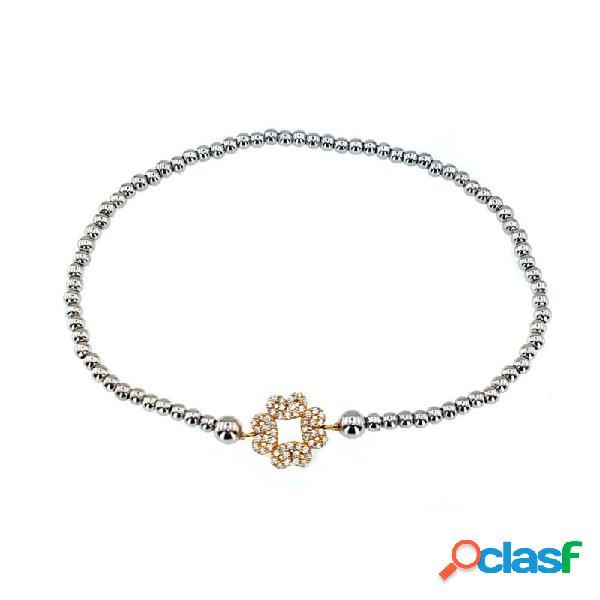 Pulsera Plata Circonitas Tsbl9057&do