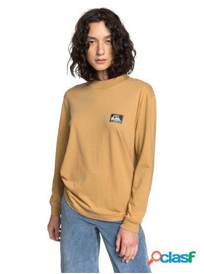 Quiksilver Womens - Camiseta de Manga Larga con Cuello Semi