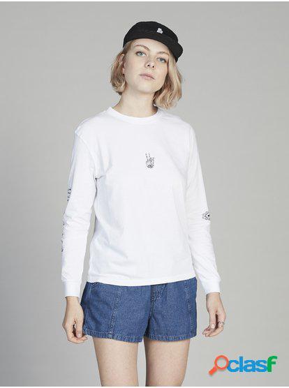 Quiksilver Womens - Camiseta de Manga Larga para Mujer -