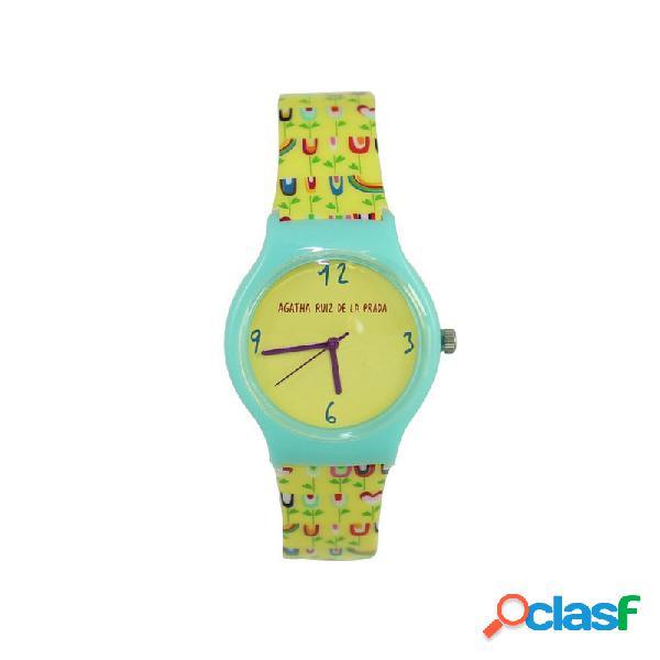 Reloj Agatha Ruiz De La Prada Niña Tulipanes Amarillos