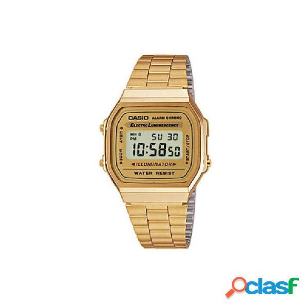 Reloj Casio Acero Hombre A168wg-9ef