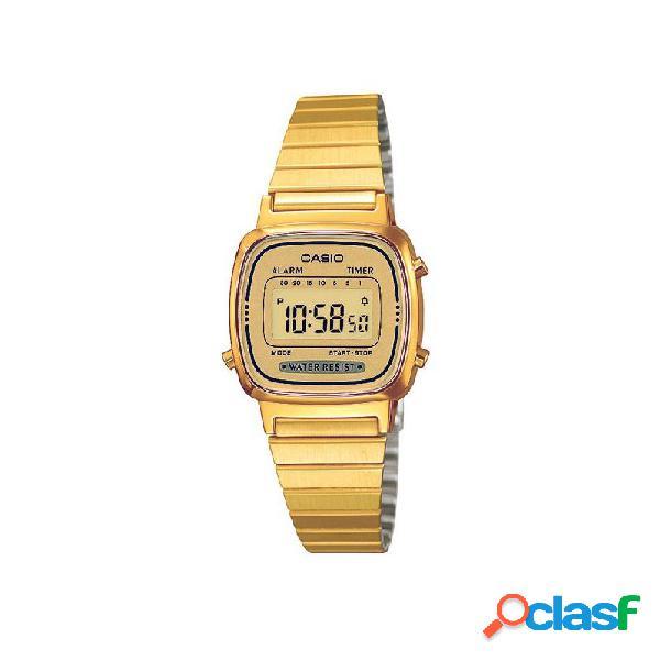 Reloj Casio Crono Digital Mujer La670wega-9ef