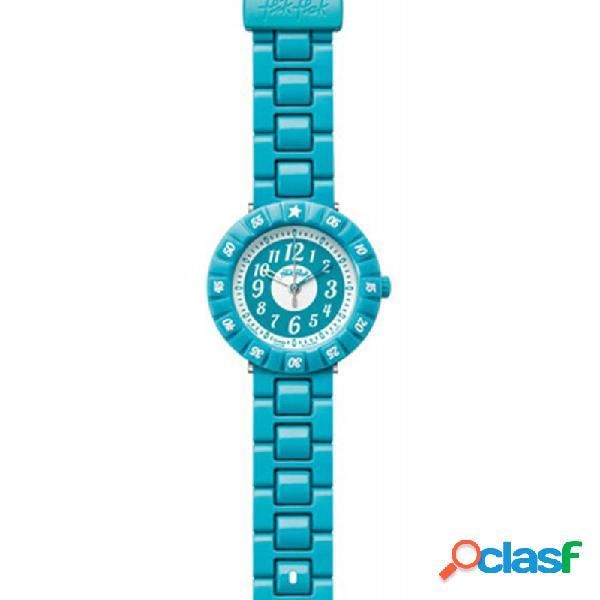 Reloj Flik Flak Turquoise Color Shake Fcsp005