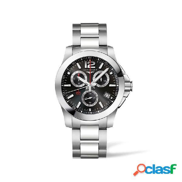 Reloj Longines Conquest Hombre Cronógrafo L3.700.4.56.6