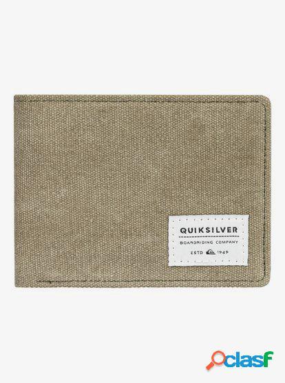 Slim Vintage - Cartera de Doble Hoja - Verde - Quiksilver