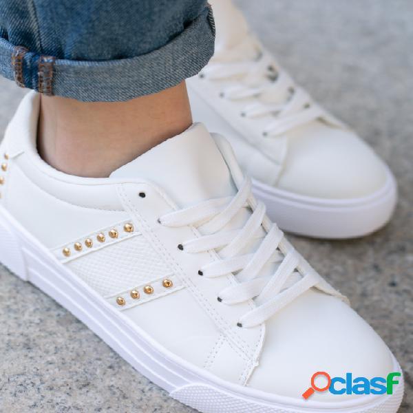 Sneakers Bunburi - Blanco