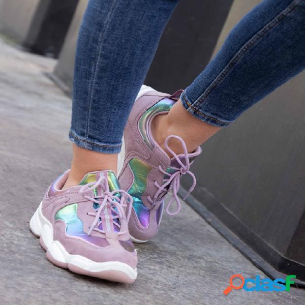 Sneakers Esparten - Morado
