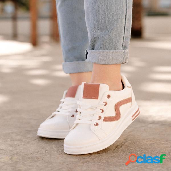 Sneakers Goku - Blanco/Rosa