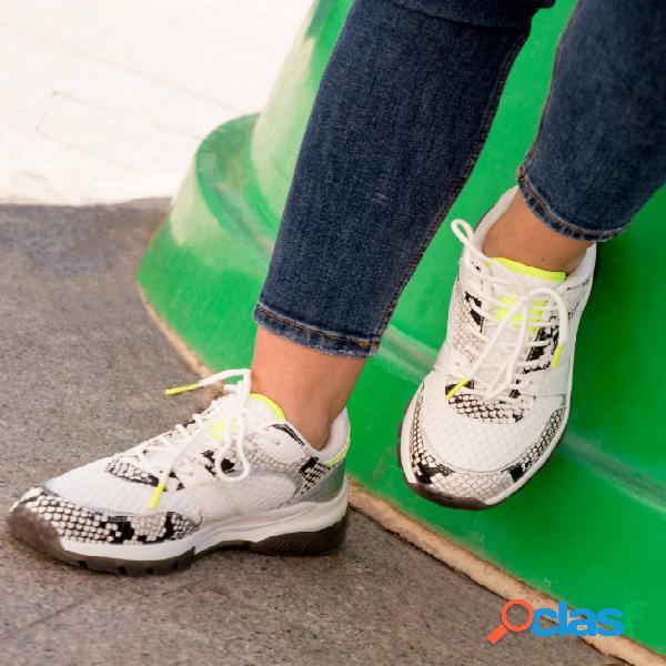 Sneakers Serpan - Blanco