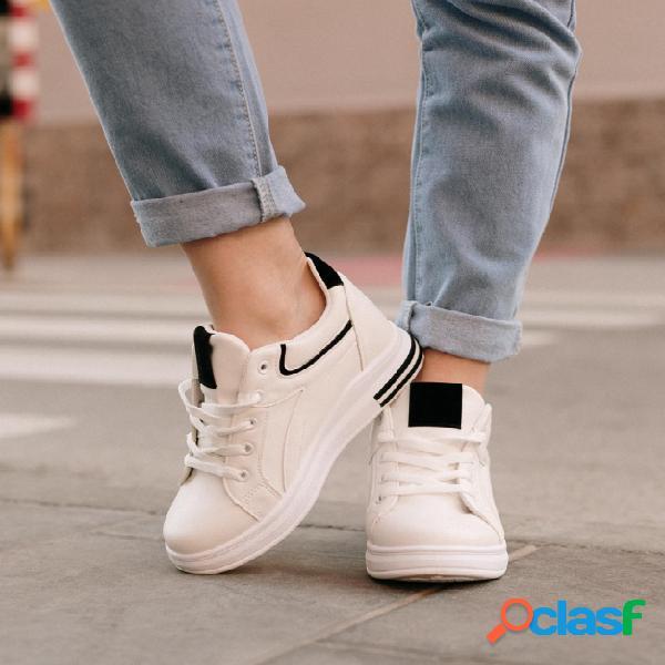 Sneakers Zore - Blanco/Negro