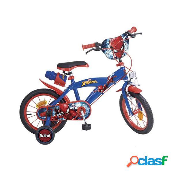 Spiderman Bicicleta 14'