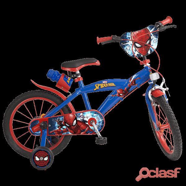 Spiderman Bicicleta 16'