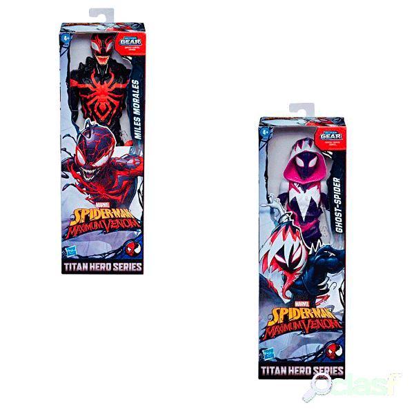 Spiderman Figura Titan Maximum Venom