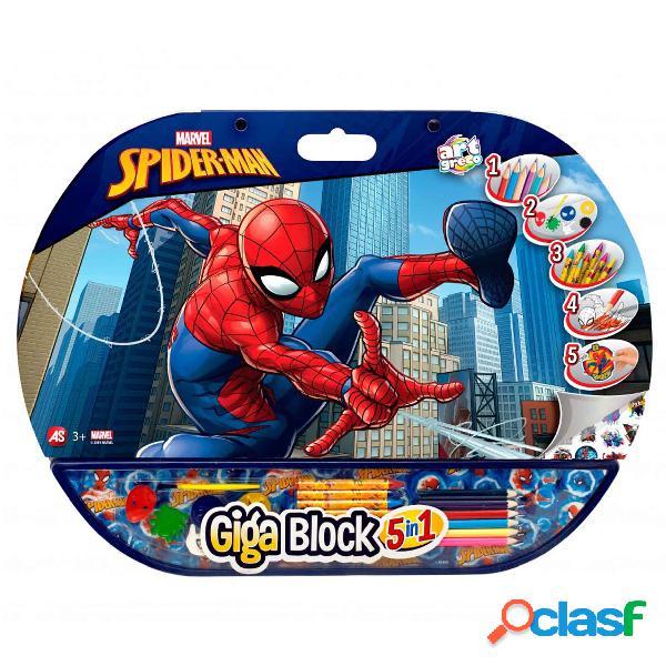 Spiderman Juego de colorear Giga Block
