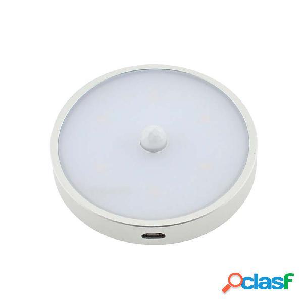Spot led zor round con sensor pir y batería recargable para