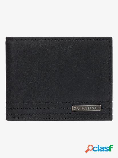 Stitchy Wallet - Cartera de Cuero de Doble Hoja para Hombre