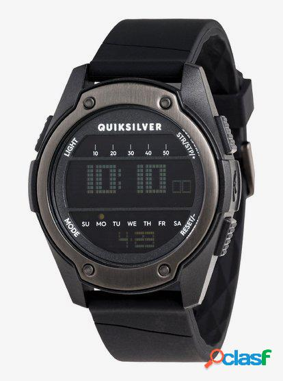 Stringer - Reloj Digital para Hombre - Negro - Quiksilver