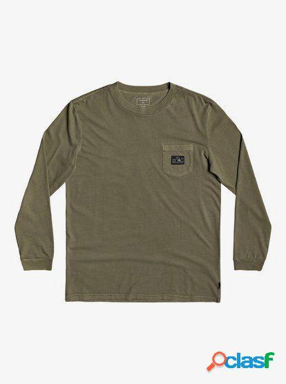 Sub Mission - Camiseta de Manga Larga con Bolsillo para