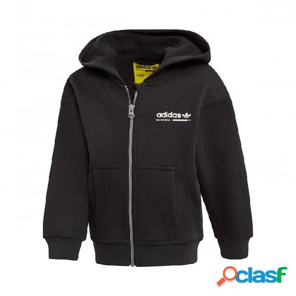 Sudadera Adidas L Kaval Hoodie 4-5a Negro