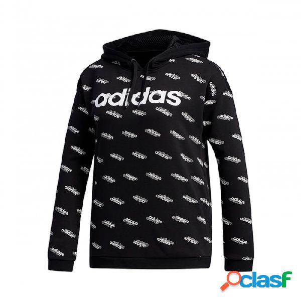 Sudadera Adidas W Fav Hdy Negro S Small