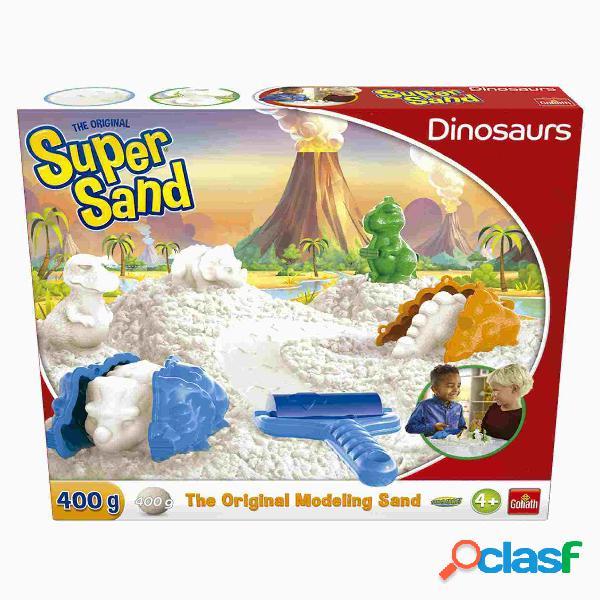 Super Sand Dinosaurios Arena de Moldeo