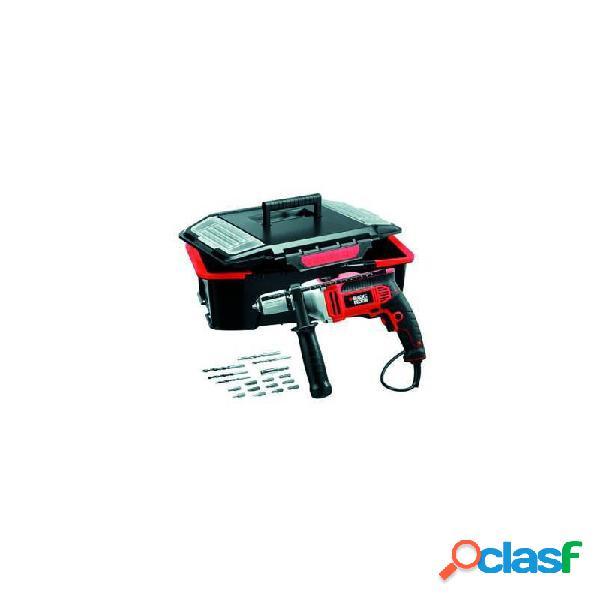 Taladro percutor black and decker kr705ast 750w + caja