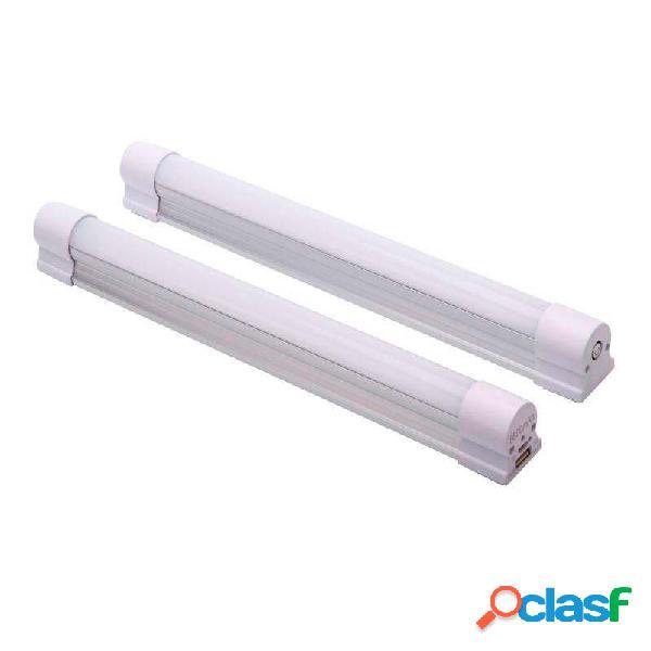 Tubo led multifunción con batería recargable 4w ip54