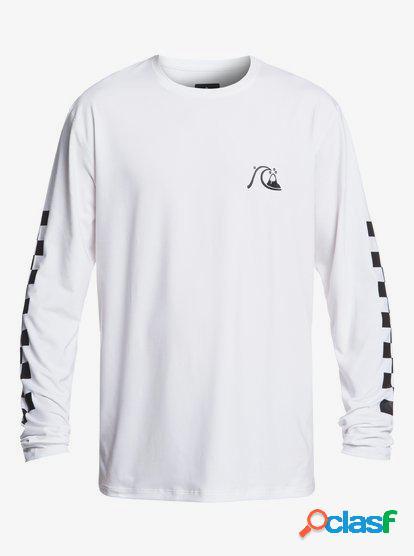 Turbo - Camiseta de Surf de Manga Larga con UPF 50 para