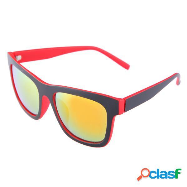 UV400 Gafas de sol con montura de marco de resina con