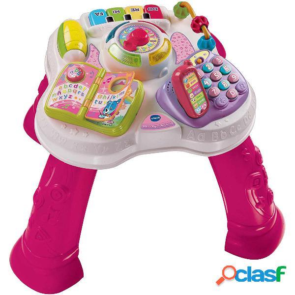 VTech Mesita Parllanchina 2 en 1 Rosa| Juguete Infantil
