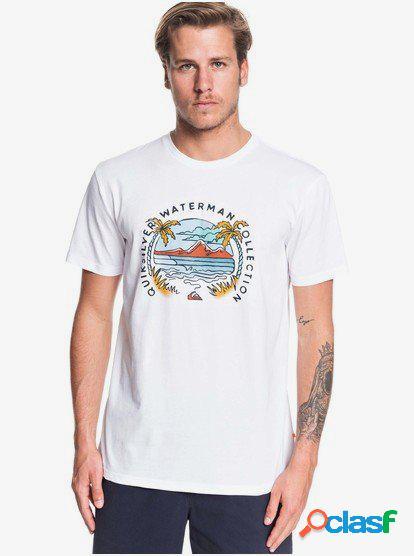 Waterman Breakfast Sets - Camiseta para Hombre - Blanco -