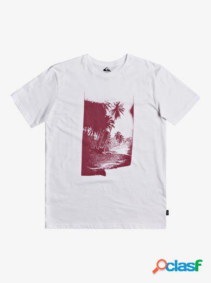 Waterman Dreamer Lounge - Camiseta para Hombre - Blanco -