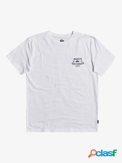 Waterman The High Road - Camiseta para Hombre - Blanco -
