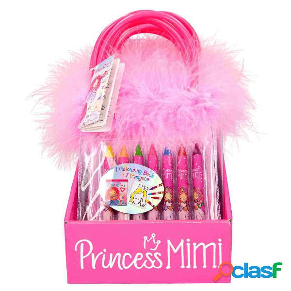 Ylvi and The Minimoomis Libro De Colorear Con Cera Princess