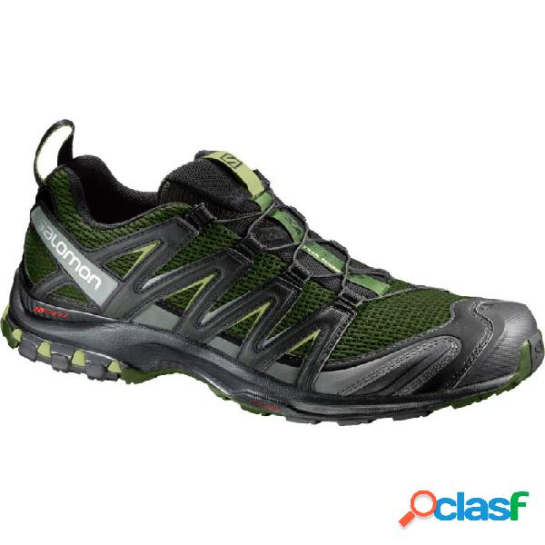 Zapatillas Salomon Xa Pro 3d Hombre Verde Negro 41 1/3 Verde