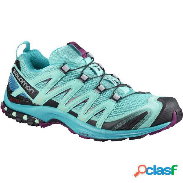 Zapatillas Salomon Xa Pro 3d Mujer Azul Morado 38 2/3