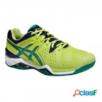 Zapatillas de padel asics gel resolution 6 clay verde