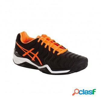 Zapatillas de padel asics gel resolution 7 clay naranja
