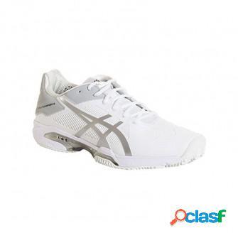 Zapatillas de padel asics gel solution speed 3 clay blanco