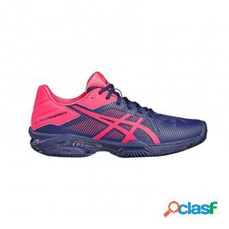 Zapatillas de padel asics gel solution speed 3 clay marino