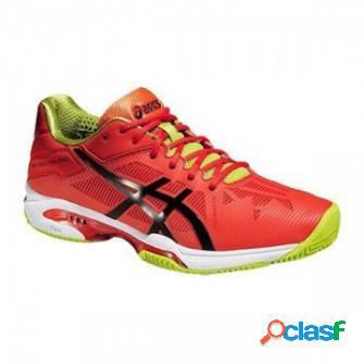 Zapatillas de padel asics gel solution speed 3 clay naranja