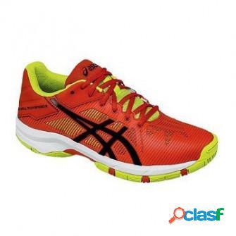 Zapatillas de padel asics gel solution speed 3 jr naranja