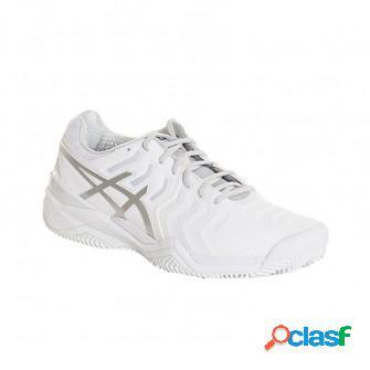Zapatillas de padel asics resolution7 clay blanco