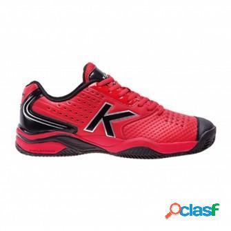 Zapatillas de padel kelme k-point rojo