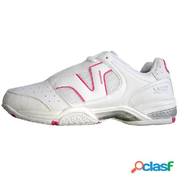 Zapatillas de pádel Vairo Lady White / Pink