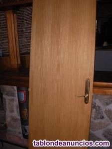 7 puertas de madera salon dormitorios baños pasillos
