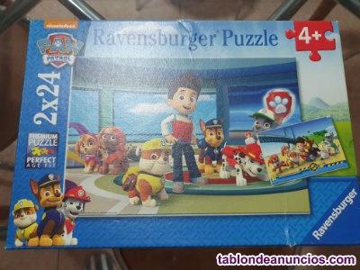 Puzzle patrulla canina mas de 4 años