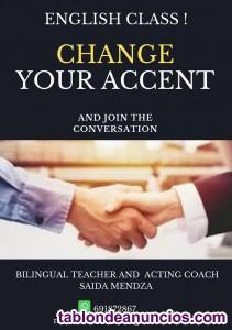 Cambia tu acento en inglés