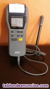 Termohigrometro registrador de precision